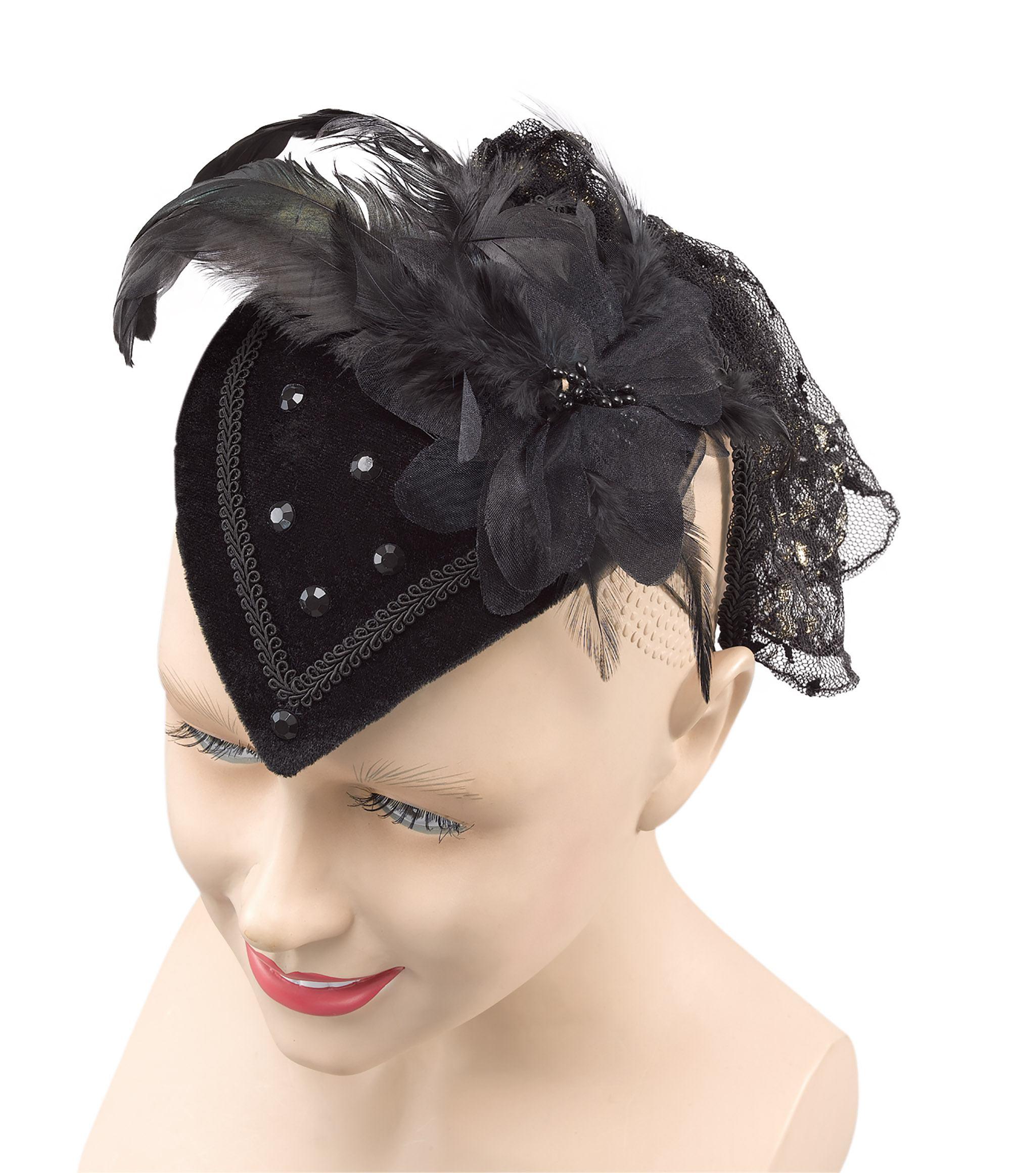 66913236161 New Black Riding Teardrop Hat 5051090040075