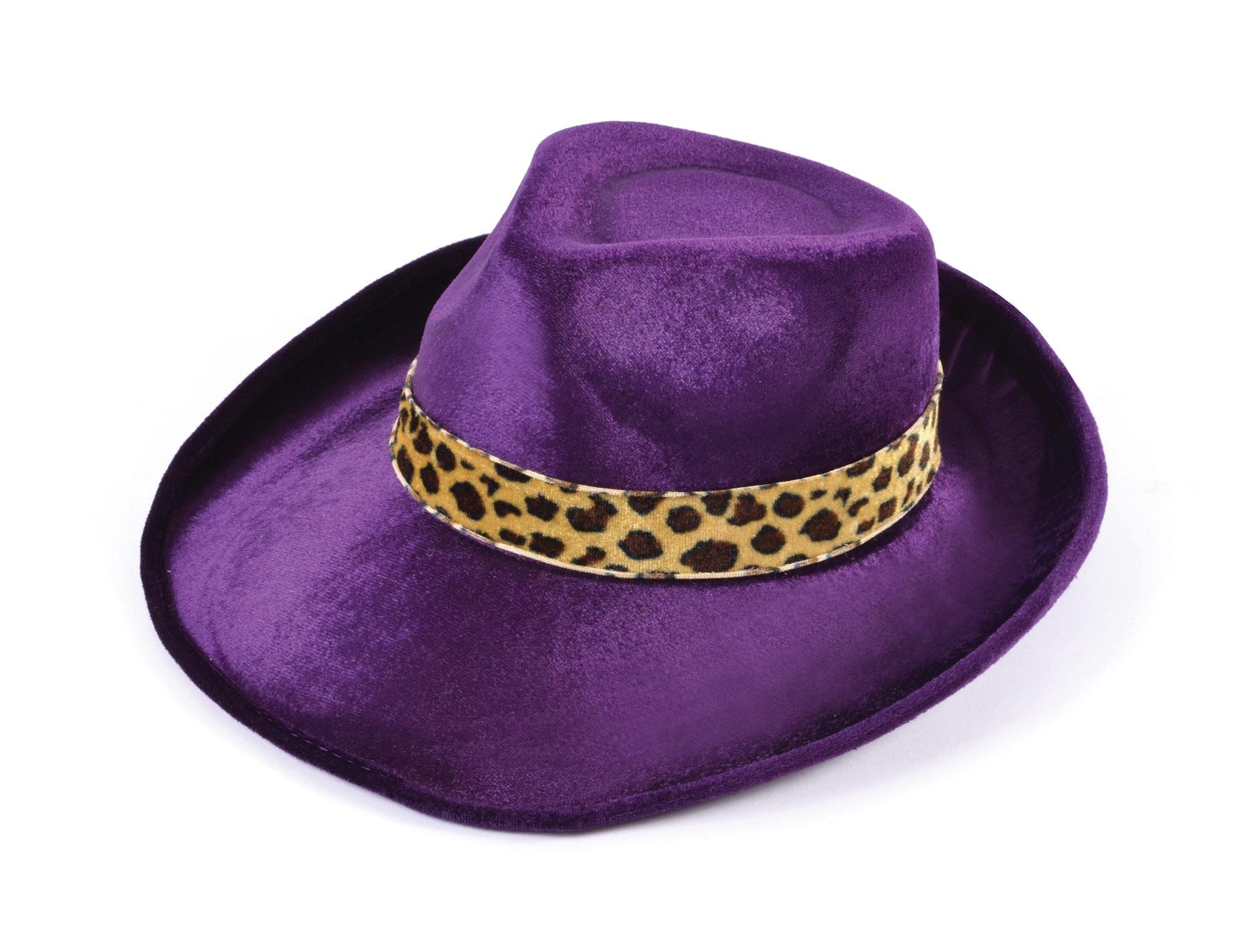 New Purple Velvet Fedora Hat 5051090044585  f863e242069