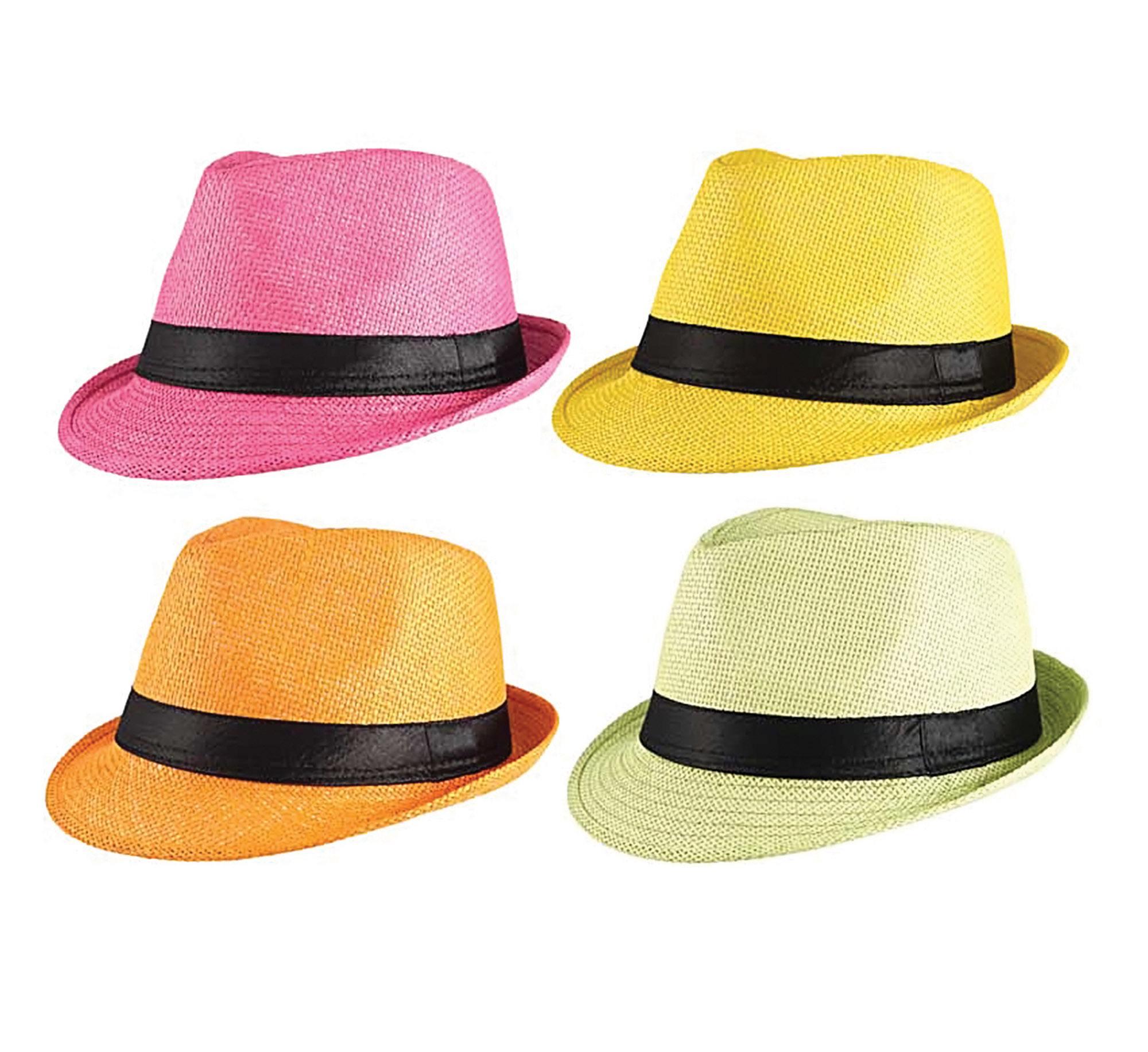 Gánster Sombrero de Paja Varios Colores  5b7831b00937